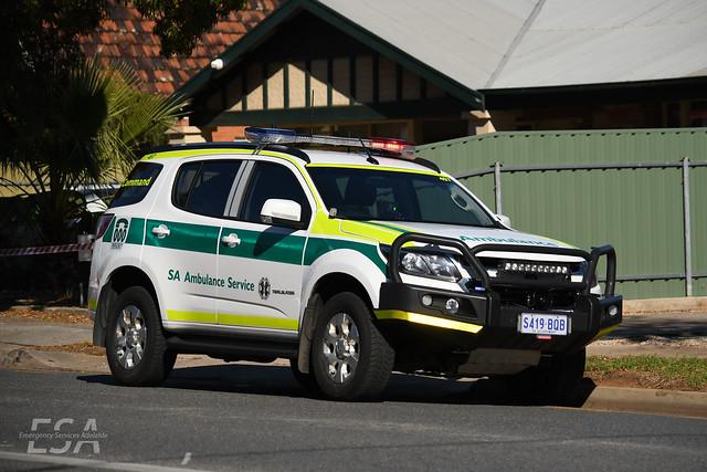 SA Ambulance (Fleet 457)   Lima Papa 1