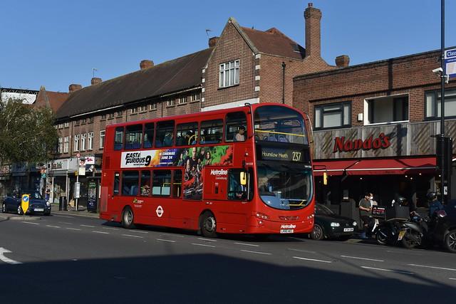 Metroline London (VW1058 LK60AEC) - Route 237