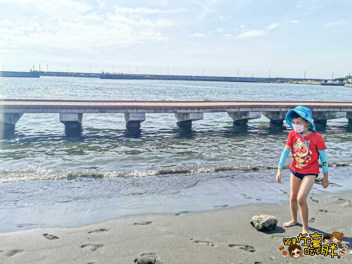 彌陀漁港海岸光廊 高雄親子旅遊 高雄景點推薦-23