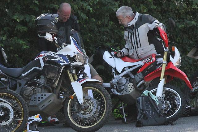 Denmead 210316 Motorcyclist