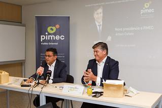 Antoni Cañete i Daniel Boil es reuneixen amb els col·lectius de diferents sectors i amb representants d'entitats i administracions locals del Vallès Oriental.