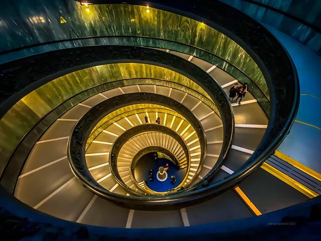 Modern 'Bramante' Spiral Stairs