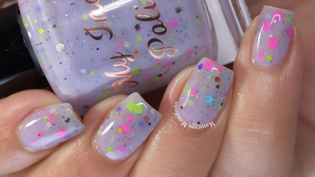 My Indie Polish Love Is Light Swatch