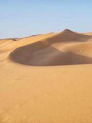 sulla cresta della duna