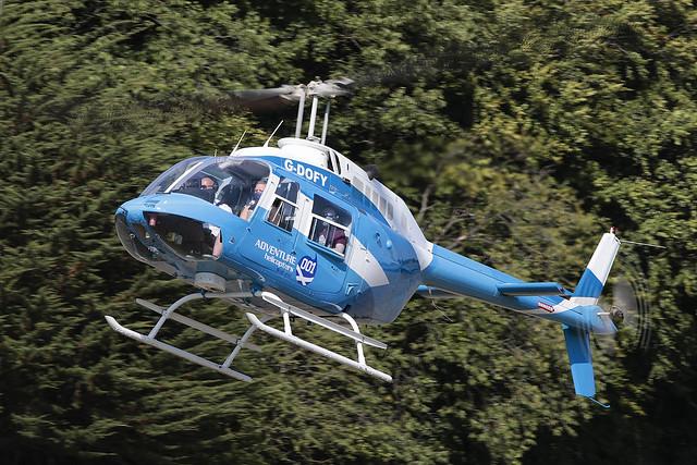 Bell 206B Jet Ranger III G-DOFY Adventure 001