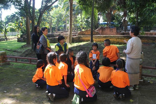 Ecole en plein air, Chiang Mai