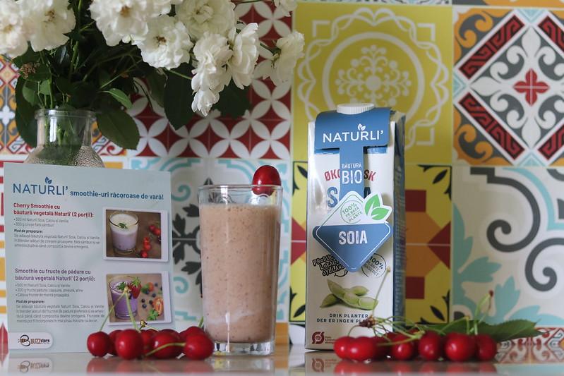 Naturli băutură de soia cu calciu și vanilie
