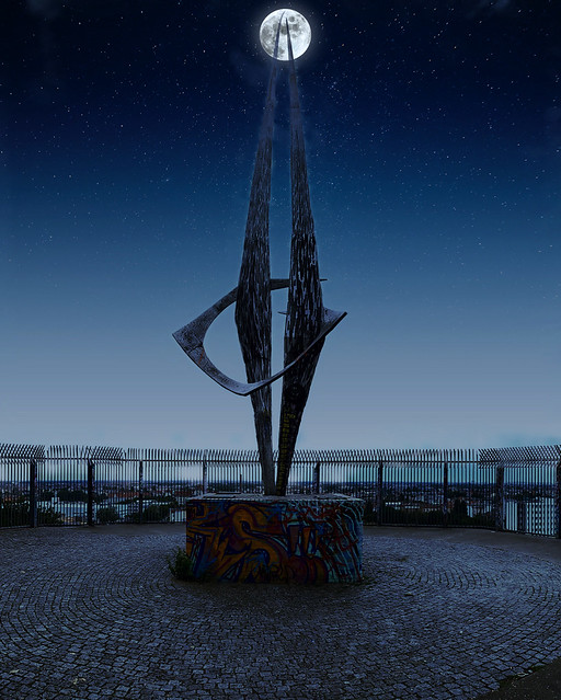 """The Flak Towers III sculpture in Humboldthain! ☆ """"Thanks for the Flickr explore"""