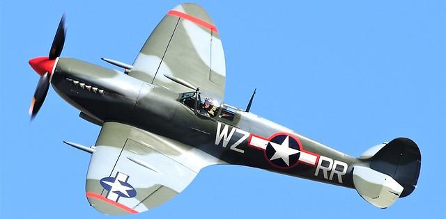 Supermarine Spitfire G-PBIX WZ-RR 309th Fighter Squadron USAF PORKY II
