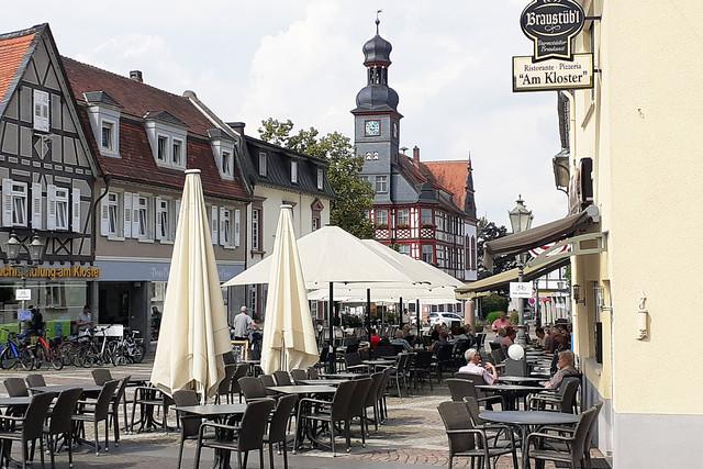 Juli 2021 ... Schönwetter-Ausflug nach Lorsch (Hessen) ... Brigitte Stolle