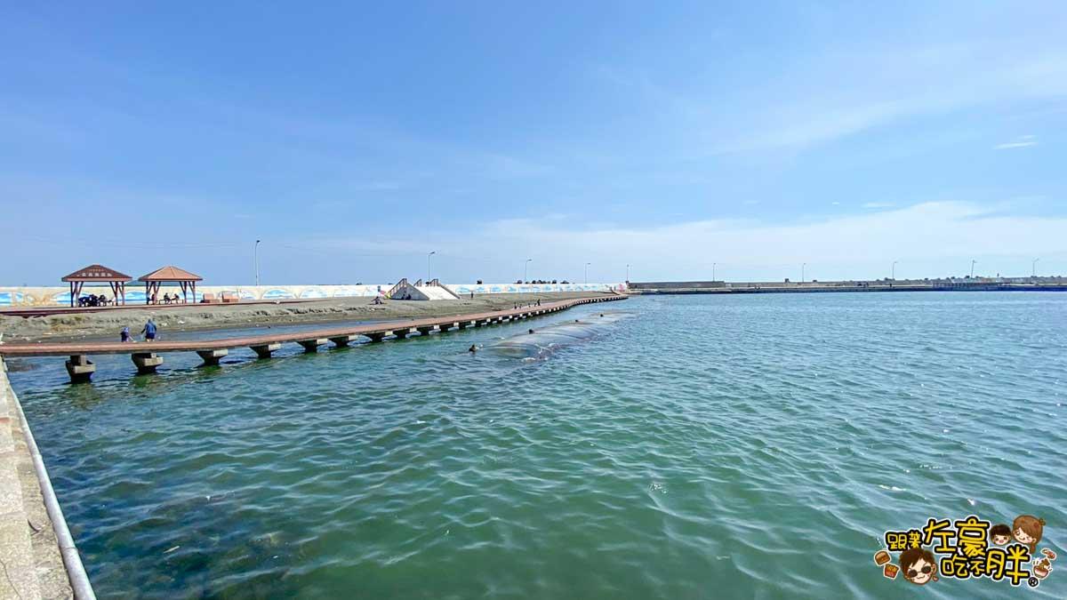 彌陀漁港海岸光廊 高雄親子旅遊 高雄景點推薦-46
