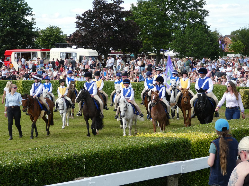 Pony Club Riders at the Great Yorkshire Show