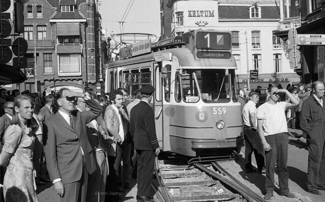 De ontspoorde tram