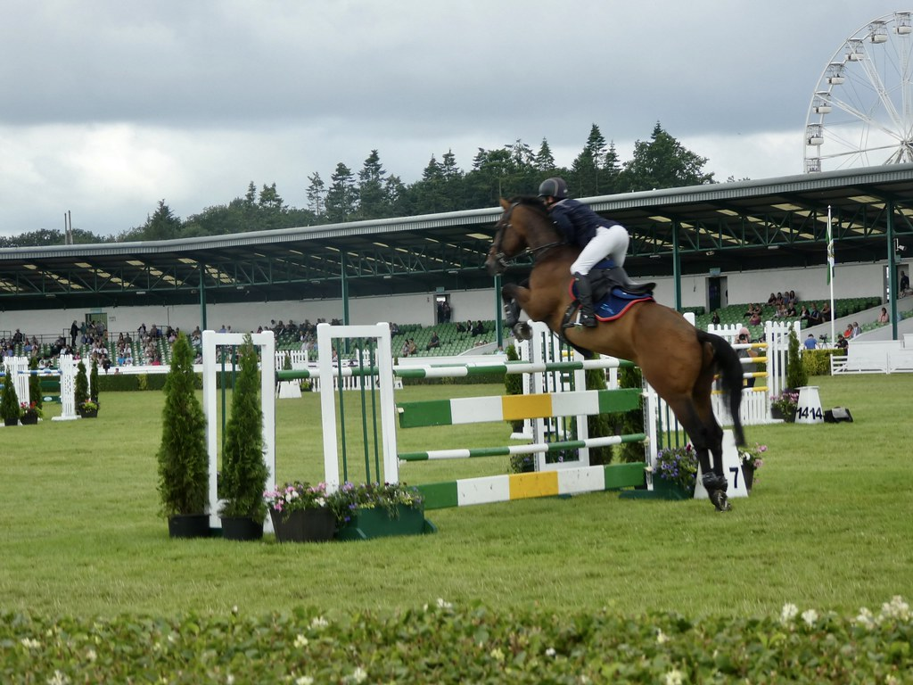 Show Jumping at the Great Yorkshire Show