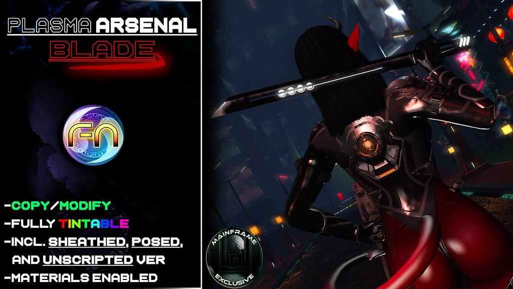 Plasma Arsenal - Blade Ad