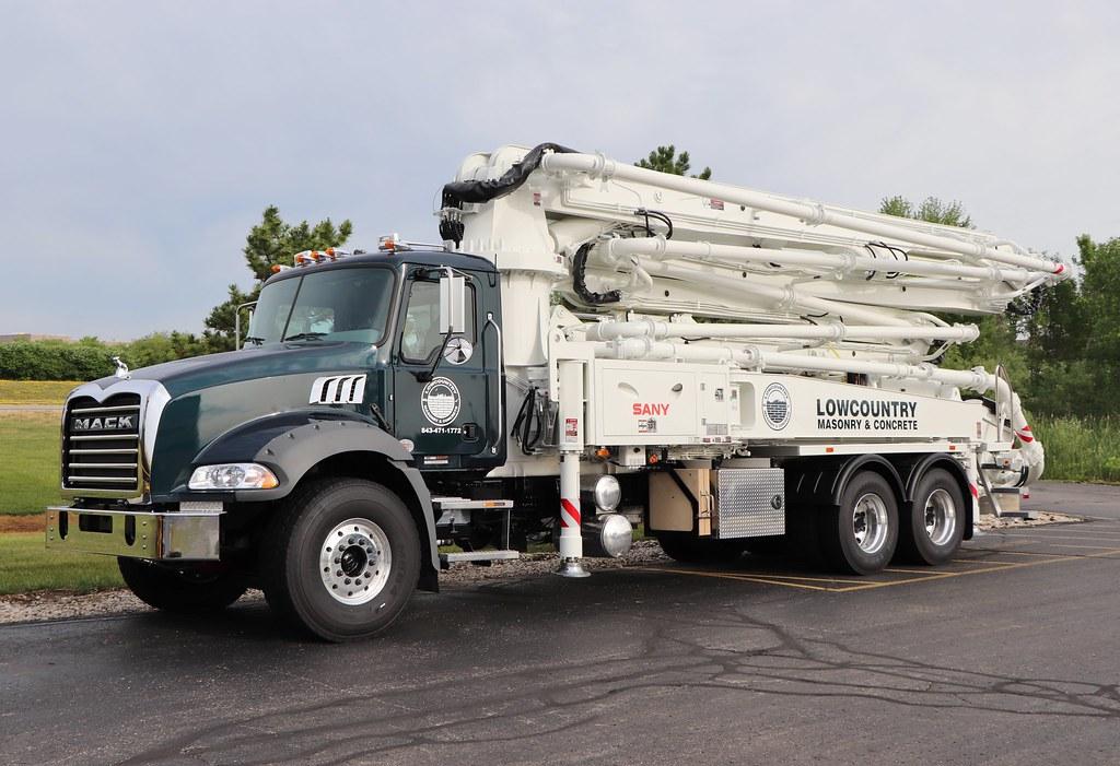 Lowcountry Masonry & Concrete Truck