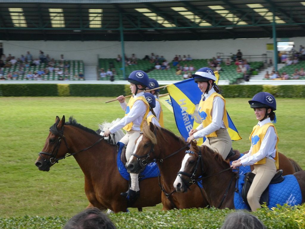 Pony Club Games at the Great Yorkshire Show