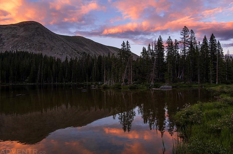Lamphier Lake Sunset