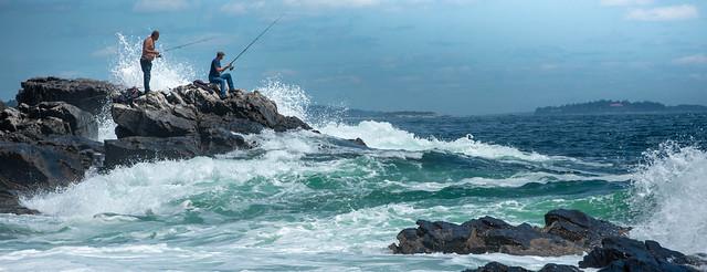 Maine Coastline Fishing 5