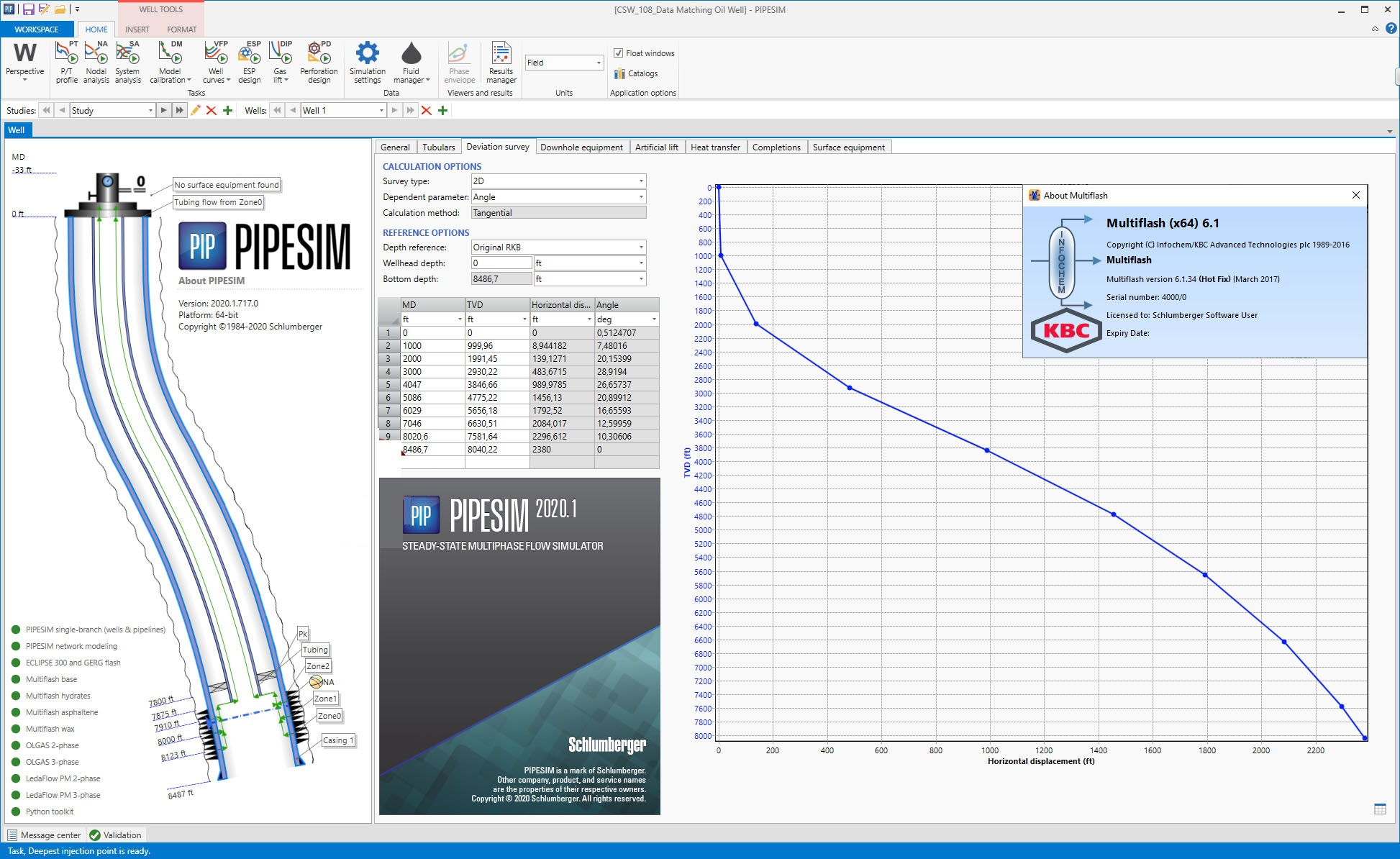 Working with Schlumberger PIPESIM 2020.1.717 full
