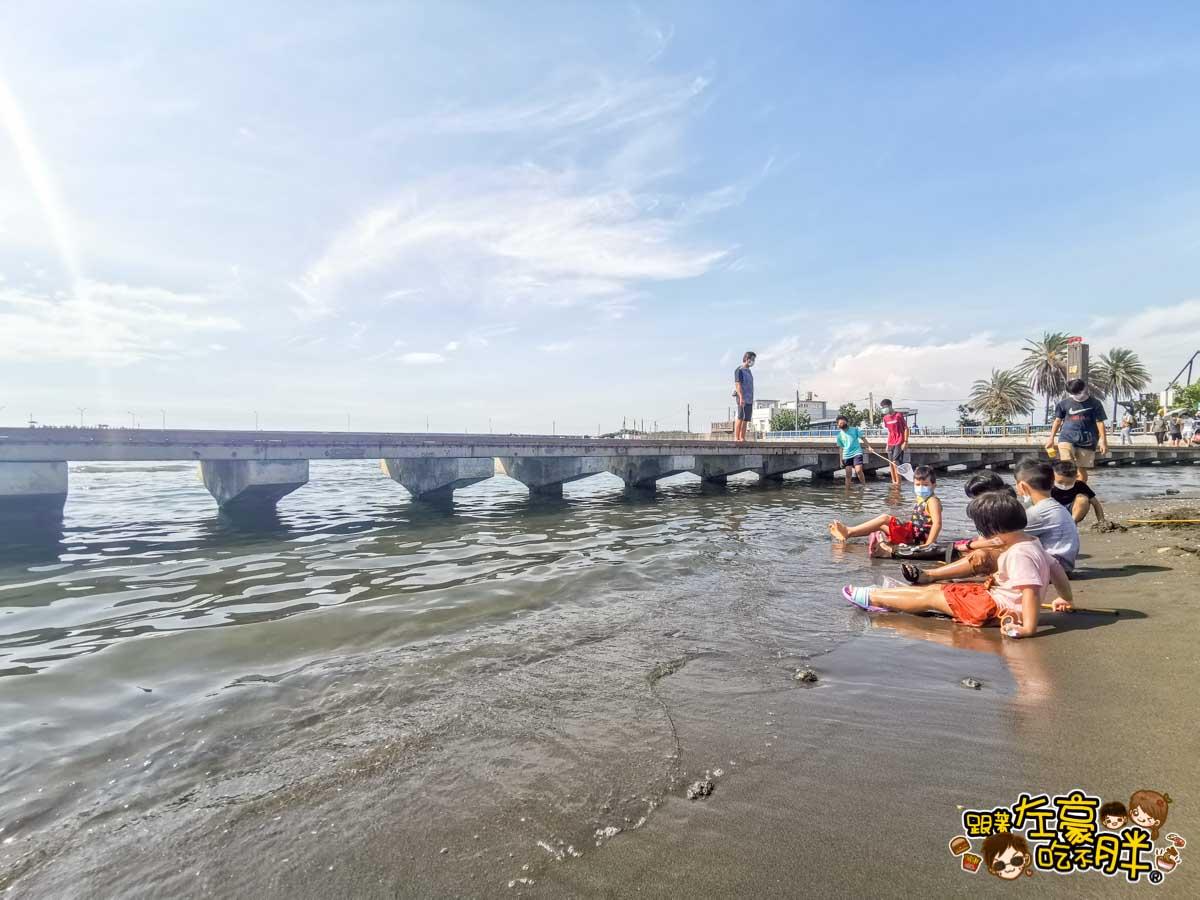 彌陀漁港海岸光廊 高雄親子旅遊 高雄景點推薦-16
