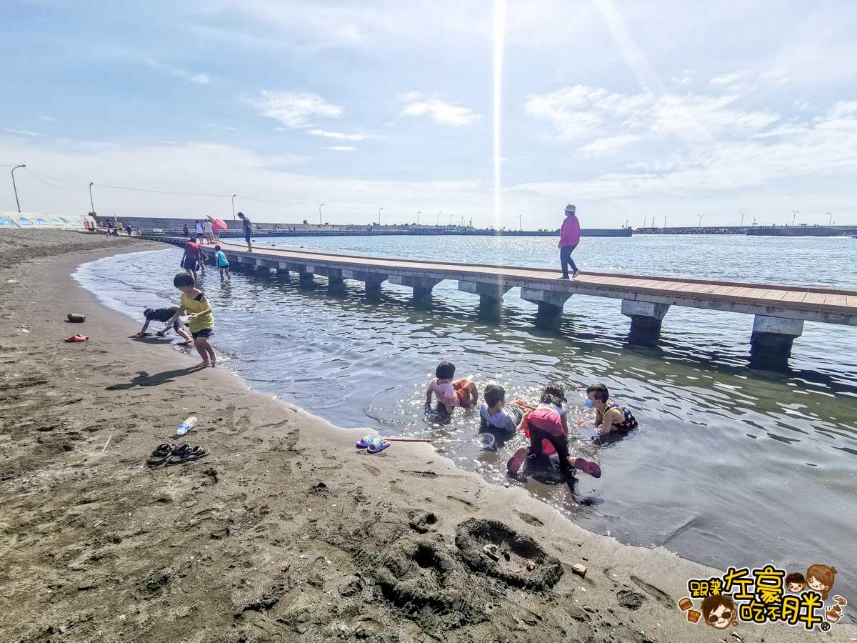 彌陀漁港海岸光廊 高雄親子旅遊 高雄景點推薦-18