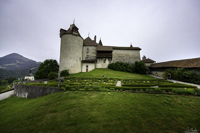 Castle Greyerz - Freiburg - Switzerland
