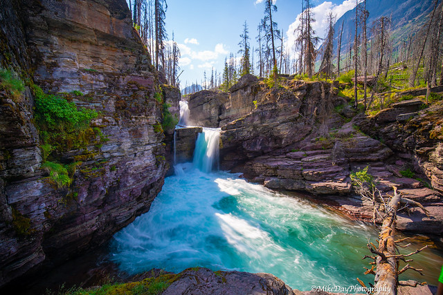 St Mary Falls, Glacier National Park