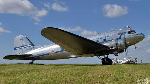 Flygande Veteraner Douglas DC-3 SE-CFP