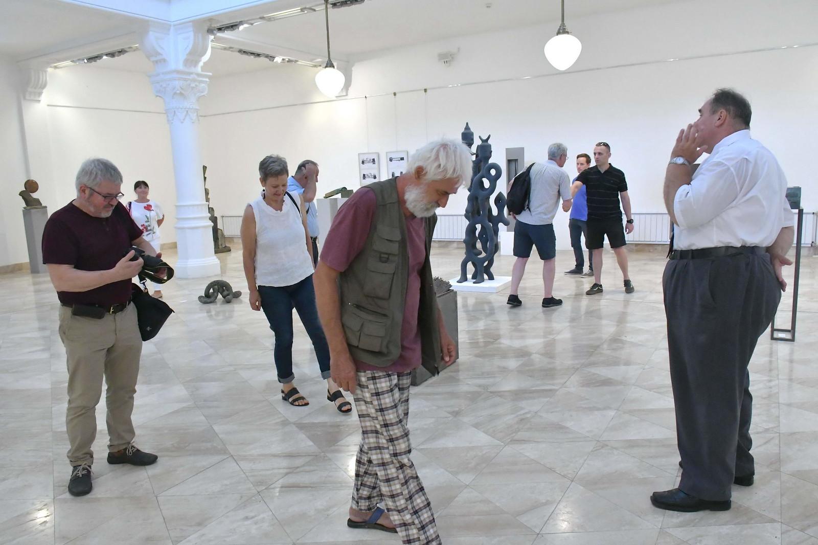 Művésztalálkozóval ért véget a 25+ kiállítás