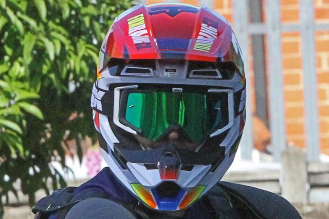 Denmead 210314 Motorcyclist