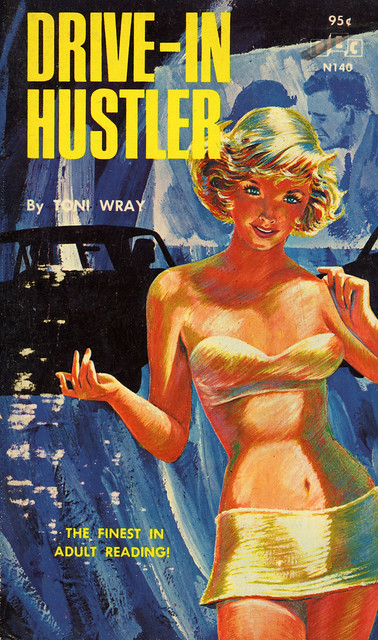 PEC Books N140 - Toni Wray - Drive-In Hustler