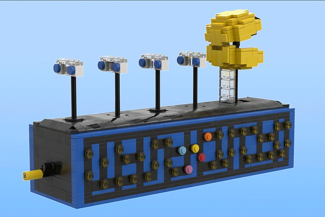 Moving Pac-Man Display on Lego Ideas