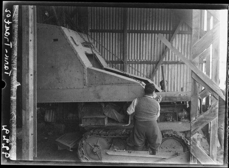 Armoured-tractor-building-mishmar-ha-emek-1938-agi-1