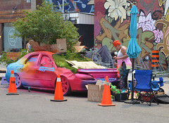 The most famous car in Toronto gets a new paint job