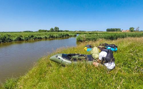 Belgium 2021-07-18: Packrafting Damme-Sluis