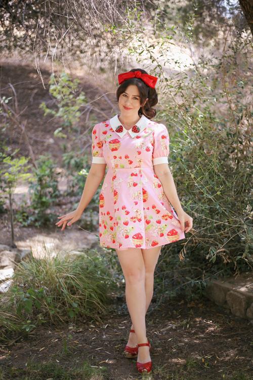 Sarsparilly x Strawberry Shortcake Berry Best Friends Dress