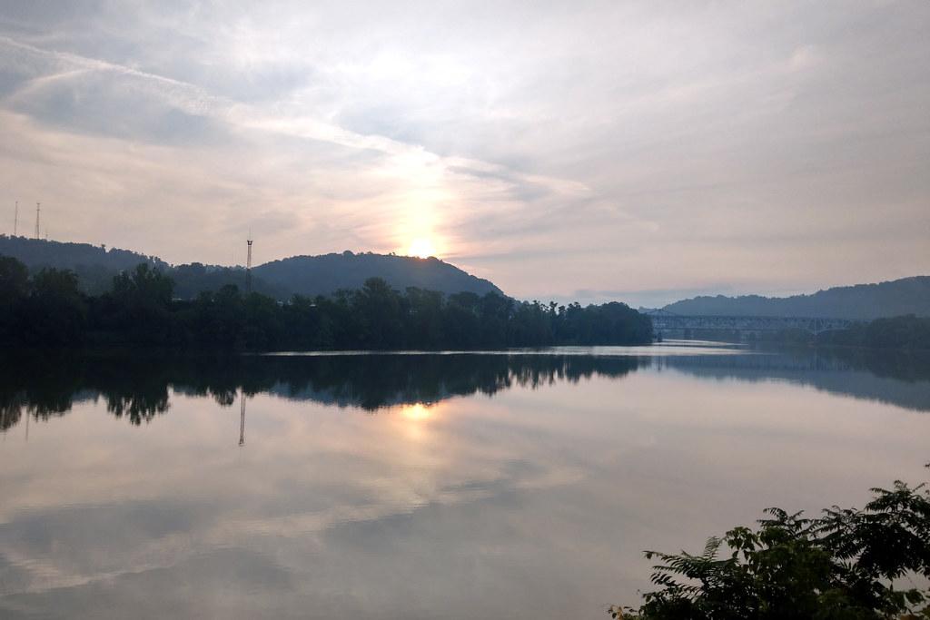 Sunrise on the Monongahela