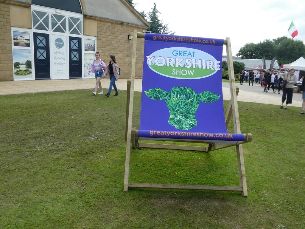Great Yorkshire Show deckchair