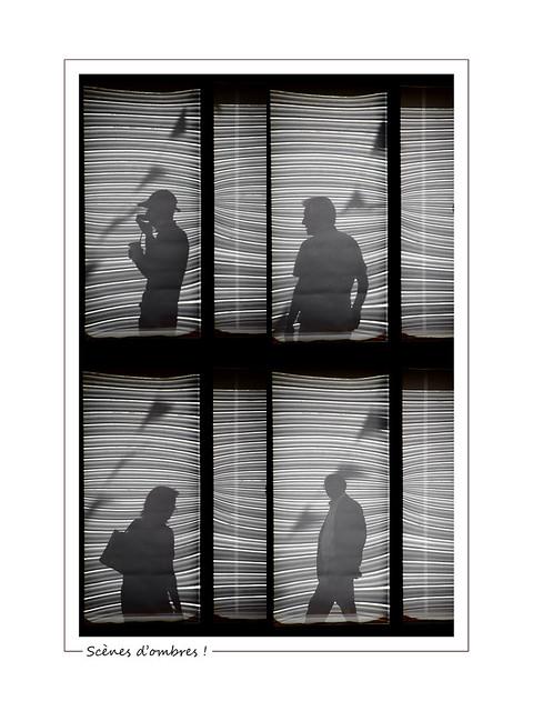 Games of shadows ! / Scènes d'ombres !