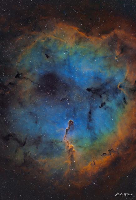 The Elephant Trunk Nebula (SHO)