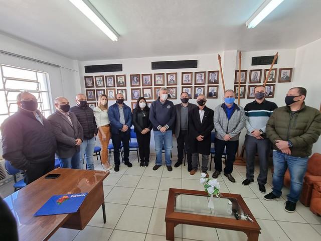 17/07/2021 Reunião da bancada do Progressistas de São Borja