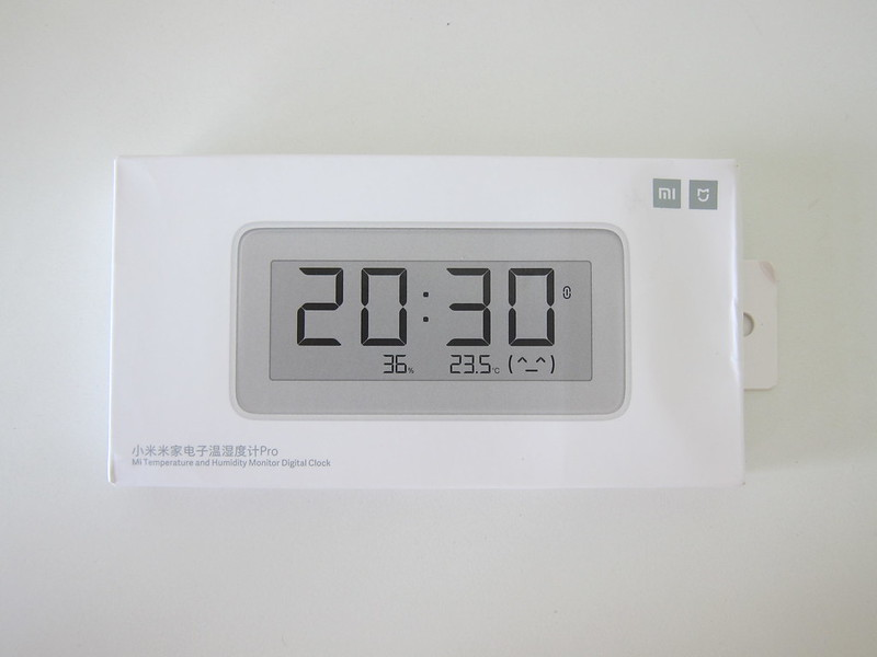Xiaomi Mi Multifunctional Digital Clock - Box Front