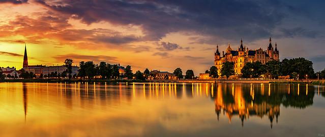 Schwerin Skyline Panorama
