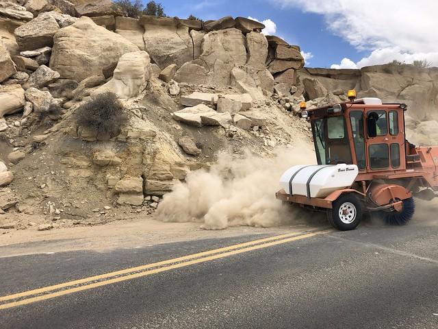 Keams Canyon Boulder Removal (July 2021)