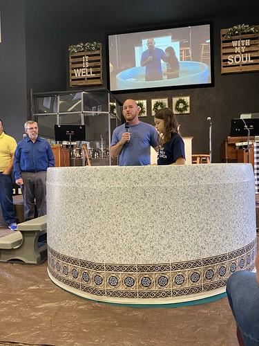 July 21 Baptisms