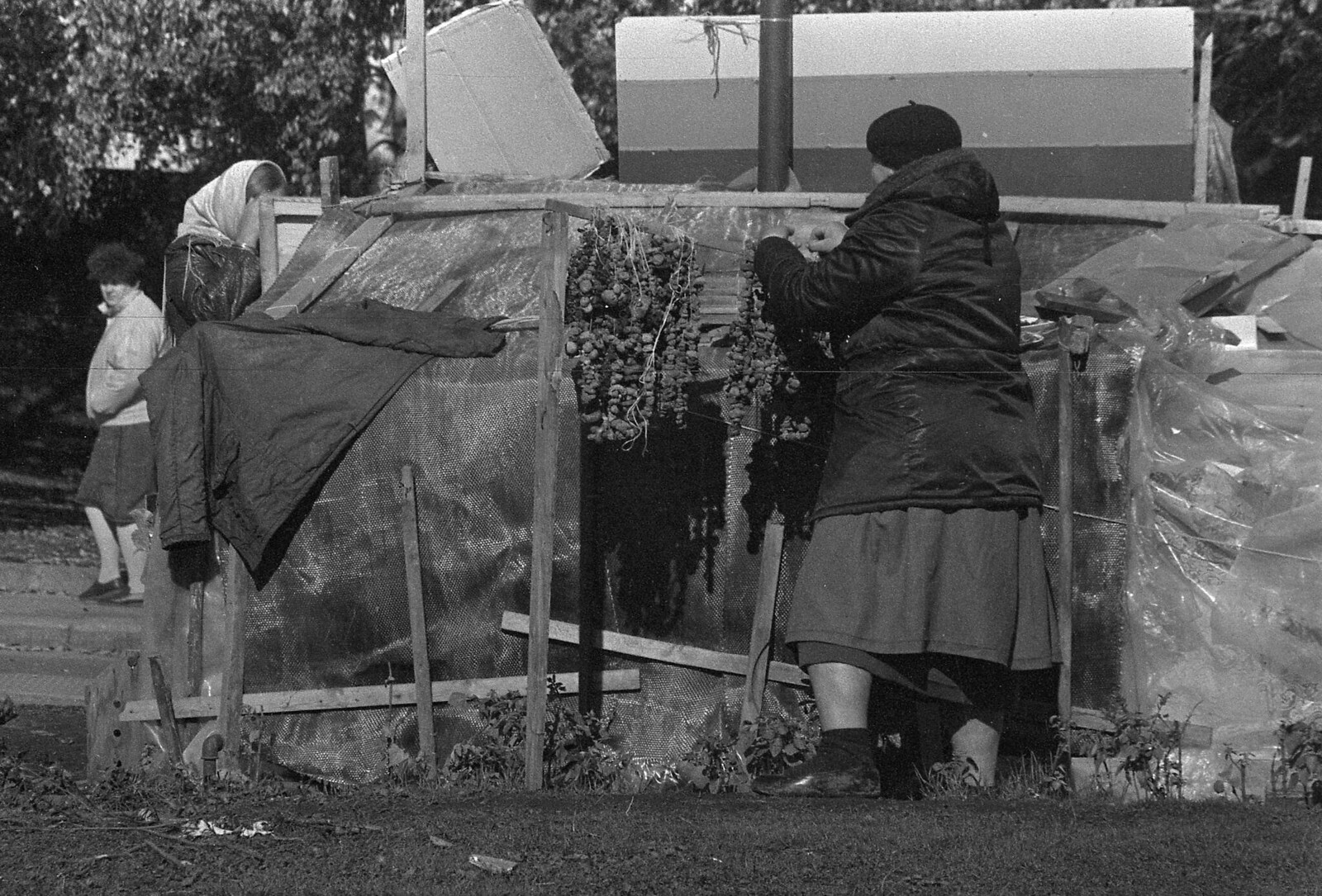 1989. Васильевский спуск, Палаточный городок (4)