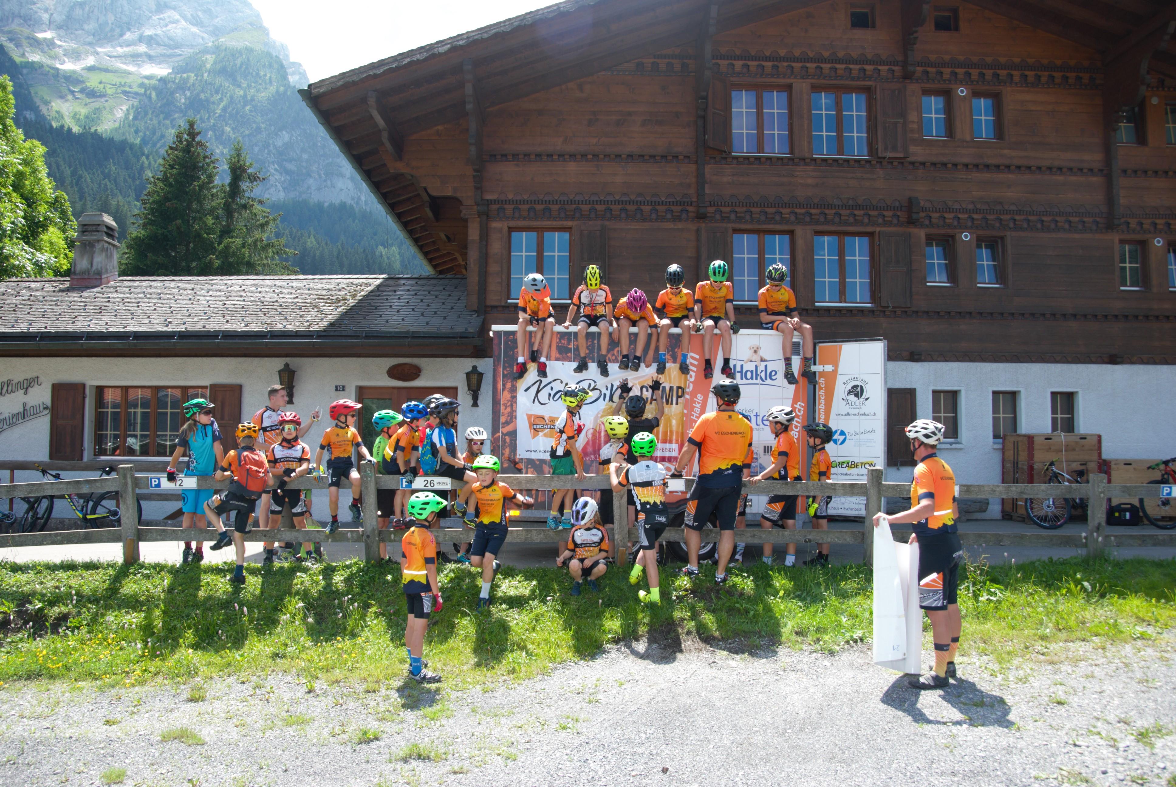 Kids Bikecamp 2021 Gsteig b. Gstaad