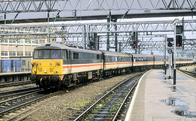 Small Numbered 86 At Manchester Piccadilly.