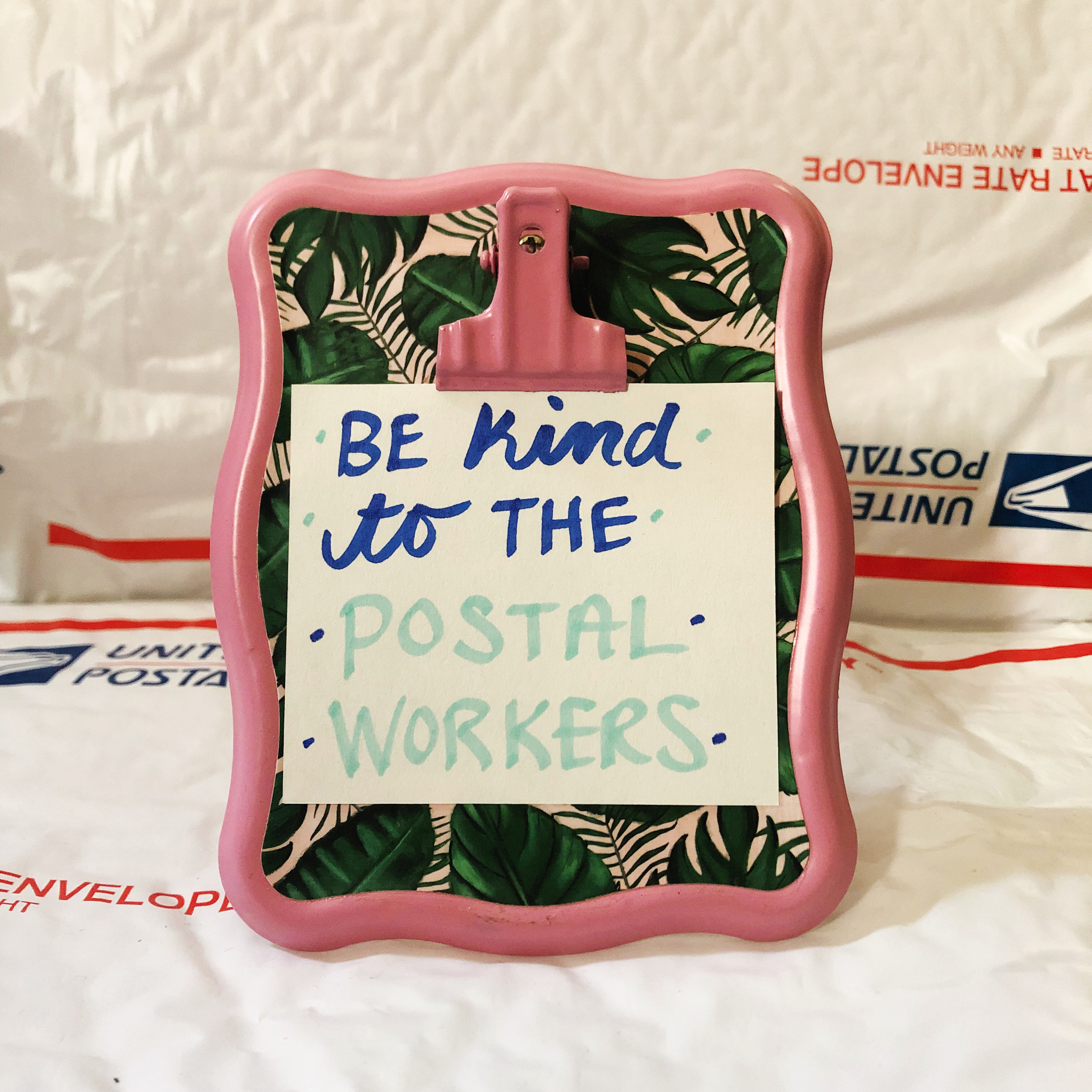 Reseller Tips 8 • Be Kind to the Postal Workers